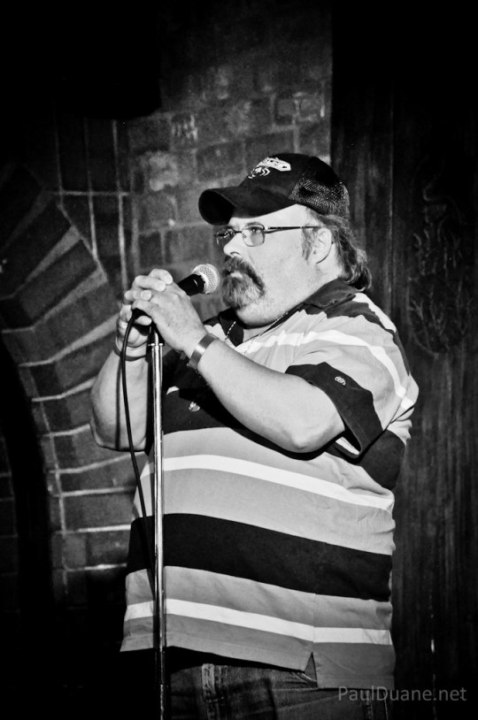 Salt Lake City based stand up comic John Morison