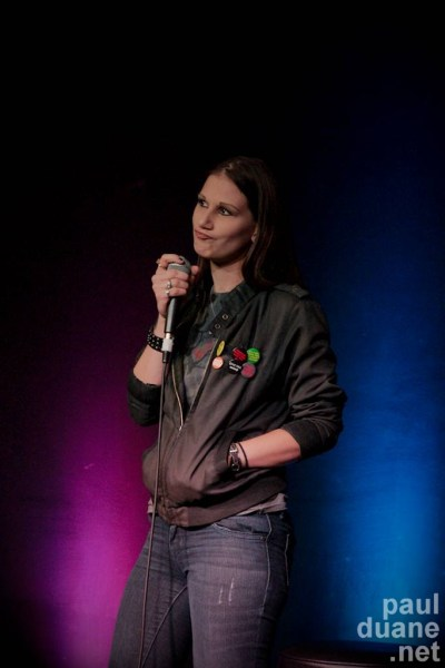 SLC comic Rachel Jensen
