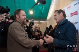 Shooting the red carpet at the Slamdance Film Festival