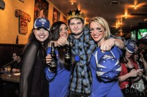 Corporate branding events: with the Budweiser Girls.