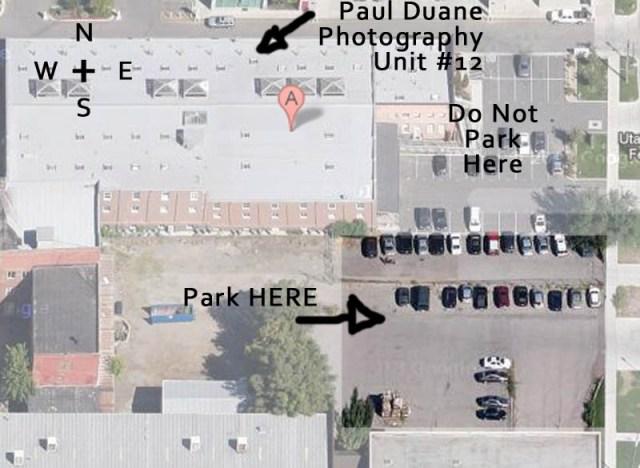 paul duane parking map