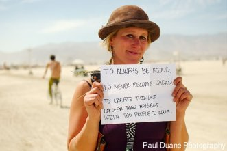 2015 Burners share their bucket lists. 3 Things. By photographer Paul Duane