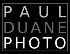 Paul Duane Photo Logo 2014 BLACK 300 wide300dpi