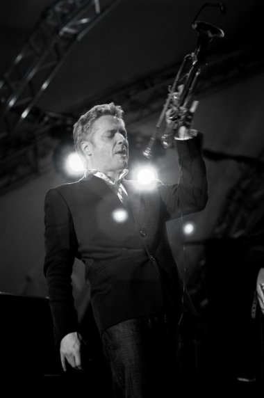jazz trumpet player Chris Botti