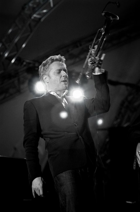 jazz trumpet player Chris Botti
