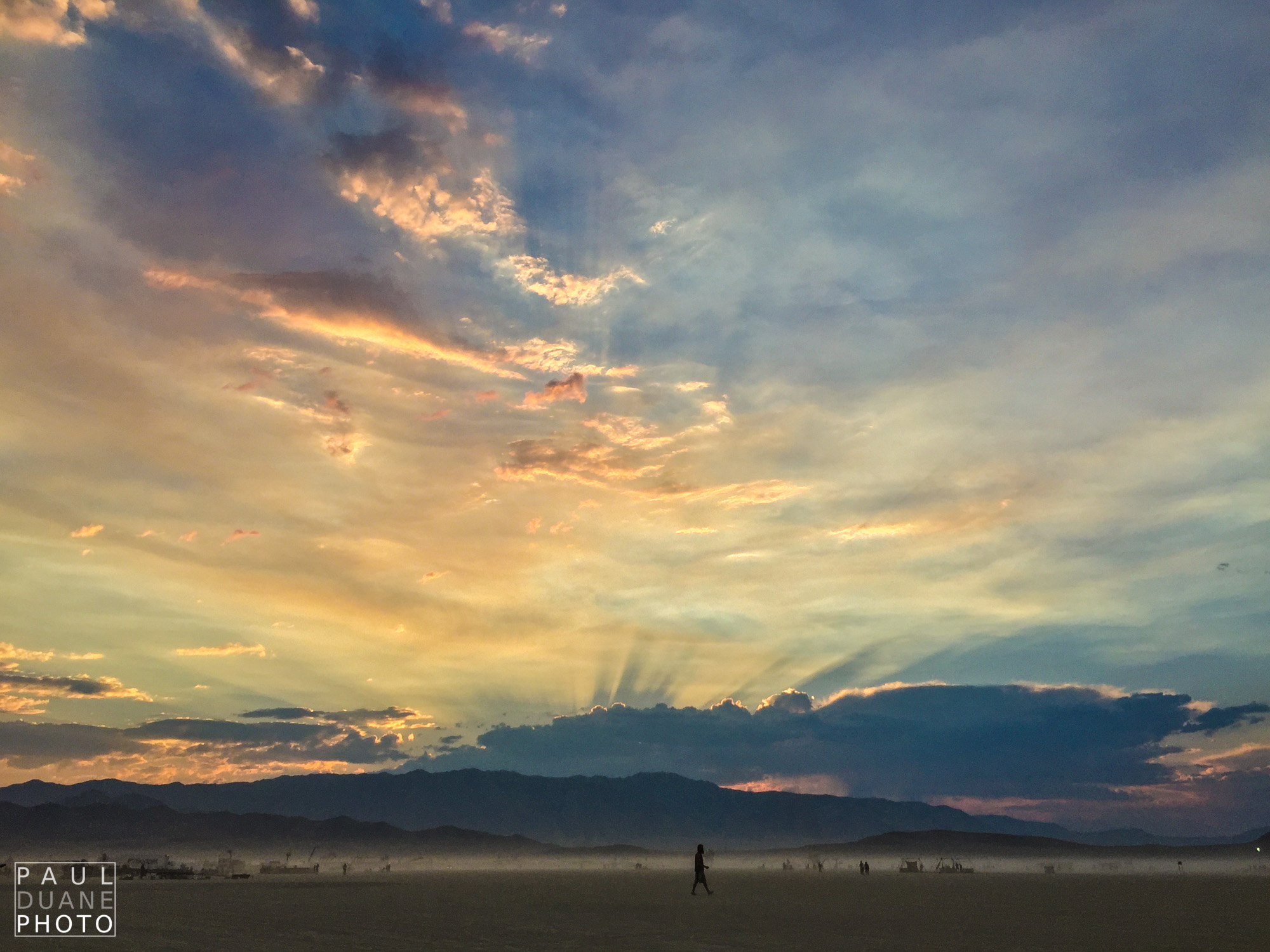 One final Black Rock Desert sunset.