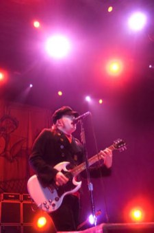 concert photo Patrick Stump with Fallout Boy