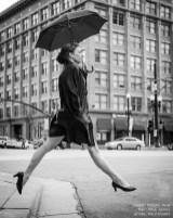 homage to Richard Avedon, black and white, SLC, UT