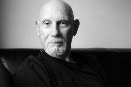 black and white portrait of Zen Master Genpo Roshi