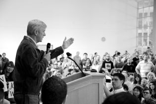 Governor Bill Weld at Libertarian Presidential Rally in SLC, Utah