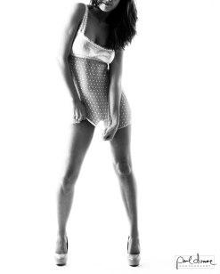 sexy black and white boudoir photography salt lake city utah