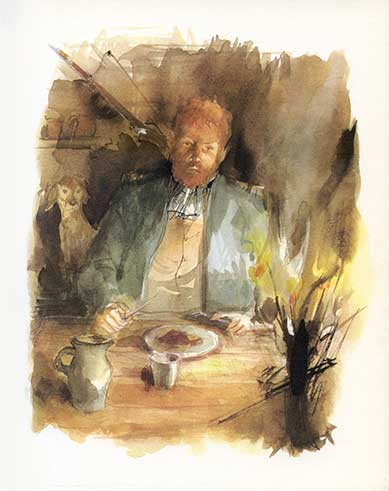 Paul DURAND Illustrateur Ditions Flammarion Vendredi