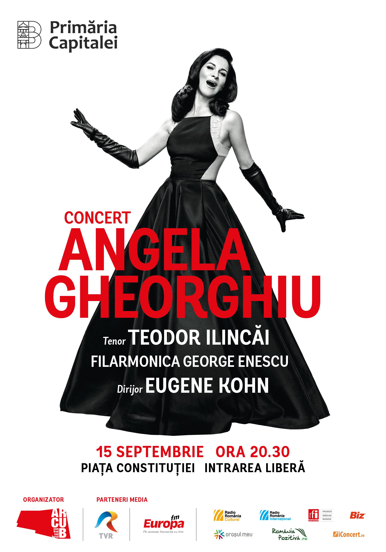 Afis Concert Extraordinar Angela Gheorghiu 15 septembrie