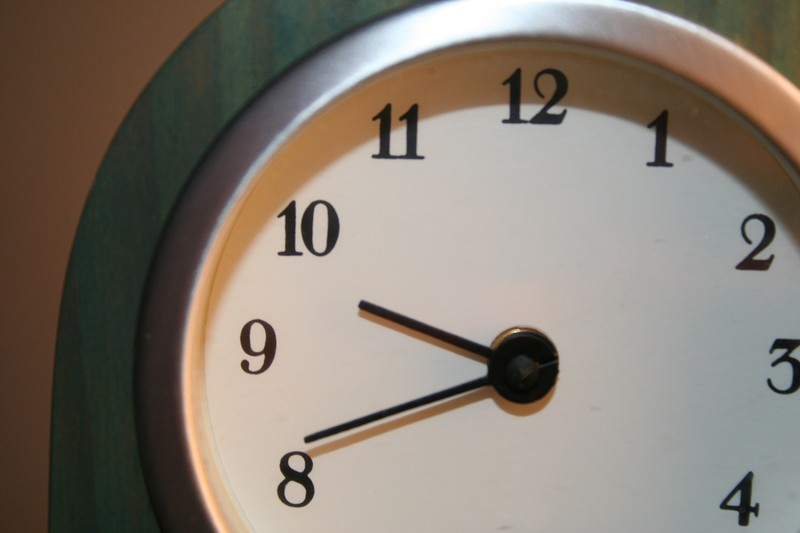 Right Time—Right Place—Right Stuff