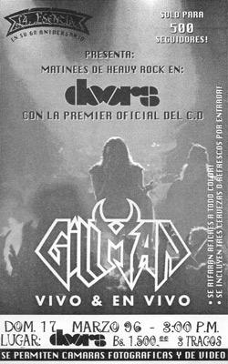 Gillman en doors (1996)