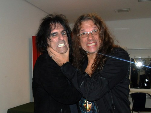 Alice Cooper y Paul Gillman - 2011