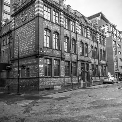 Great John Street Hotel Manchester Black and White Portrait Manchester Landscapes Architecture