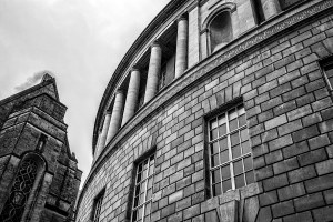 Central Library, Manchester, Black and white Landscape photograph Manchester Landscapes Architecture