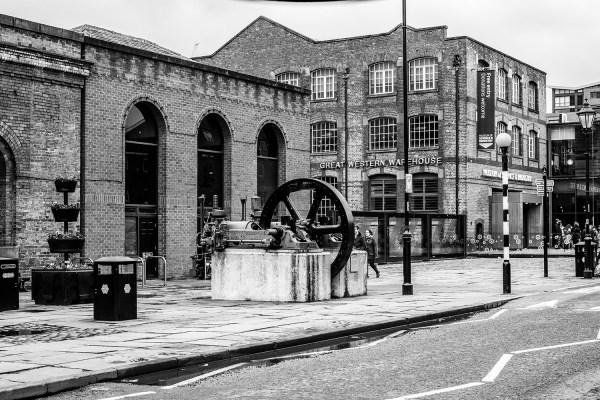 The Museum Of Science & Industry (MOSI), Black & White Print Manchester Landscapes Architecture
