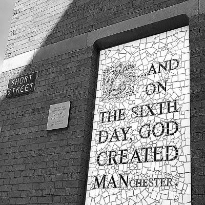 On the Sixth Day God Created Manchester Manchester Landscapes Afflecks