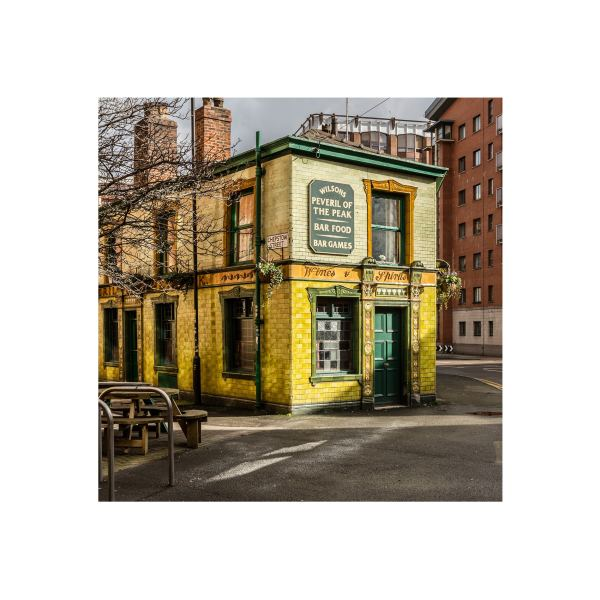 Colour Photo of Peveril of the Peak Public House | Micro Manchester Series Micro Manchester colour 3