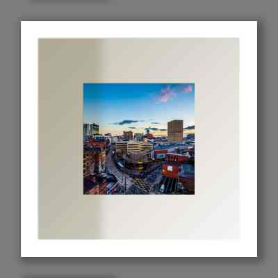 Manchester Skyline at Sunset | Micro Manchester Series Micro Manchester colour
