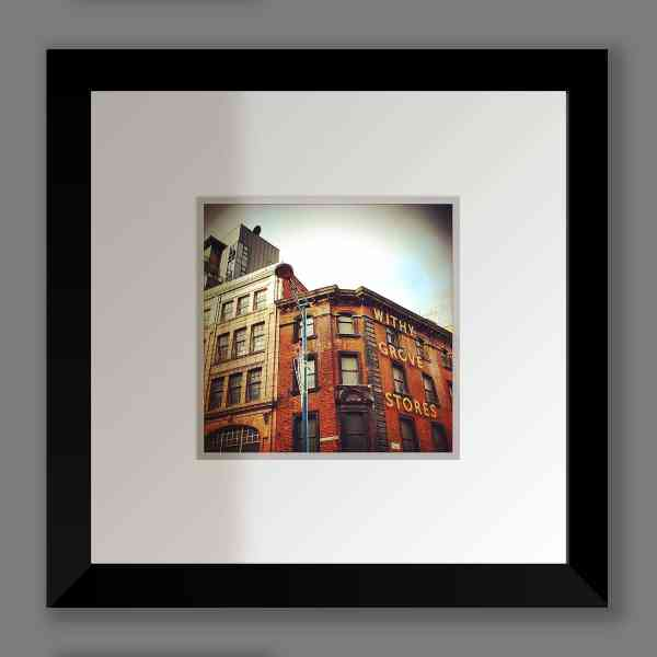 Withy Grove Stores Print, Shudehill   Micro Manchester Series Micro Manchester colour 2