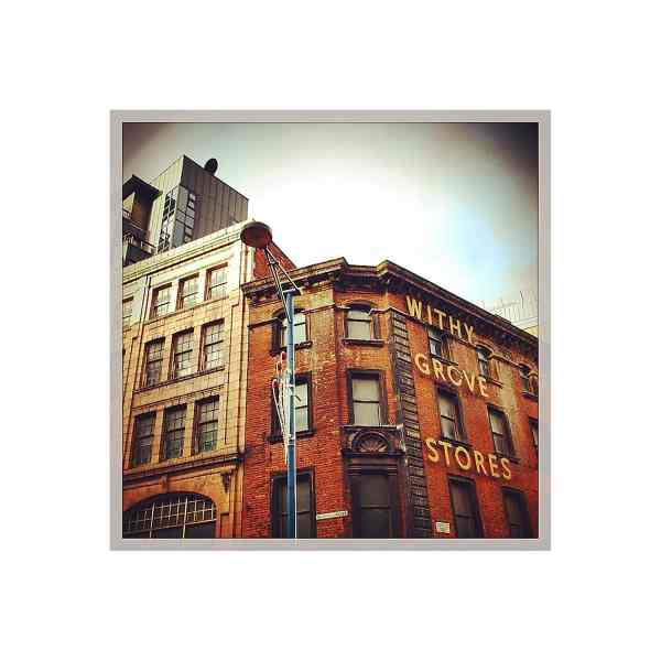 Withy Grove Stores Print, Shudehill   Micro Manchester Series Micro Manchester colour 3