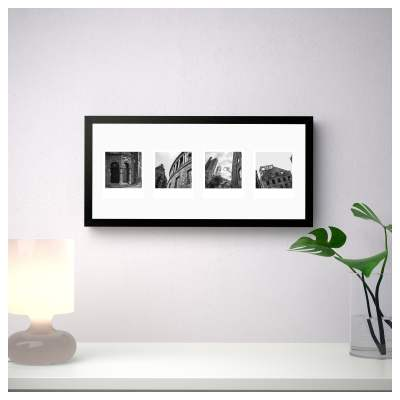 Manchester via Instagram Black and White Poster Art and Gift Ideas Black and White