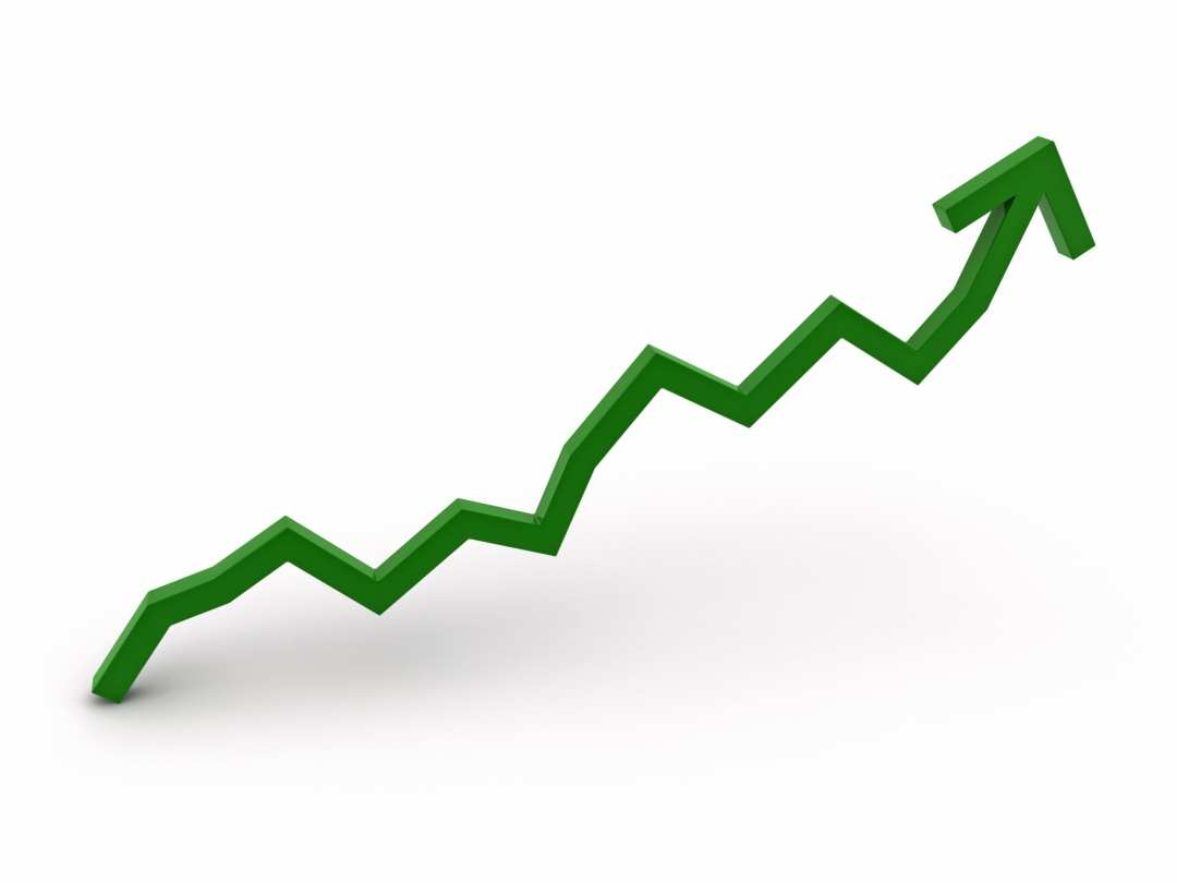 Image result for up arrow growth