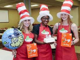 ReadAloud celebrates 'Green Eggs and Ham' 50th birthday with Seuss-a-Palooza  this Thursday evening