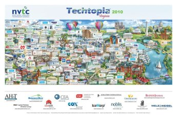 Wow! Northern Virginia Technology Council 2010 Map of Tech Companies in Virgina!