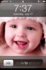 My iPhone wallpaper features baby Daniel more and more!