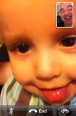 Best FaceTime ever with Baby Daniel