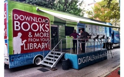 Check out the Digital Bookmobile in Charleston today!