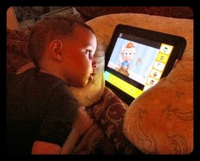 Daniel's favorite iPad app - PBS Kids