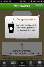 I love this app!  Thanks @starbucks