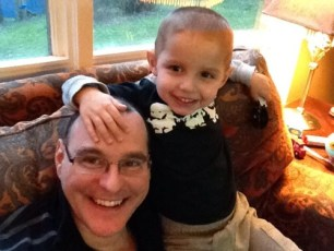 Daniel and Daddy!