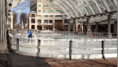 Reston Town Center Outdoor Ice Rink