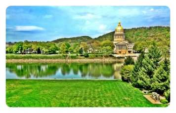 Breathtaking view of WV's Capitol