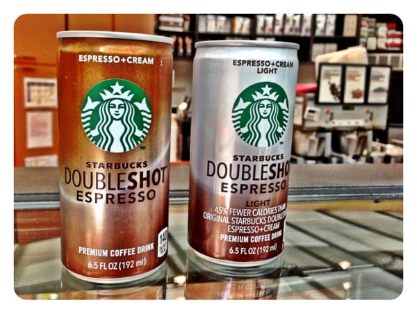 New Starbucks Doubleshot Light 70 Calories Vs 140 As Long