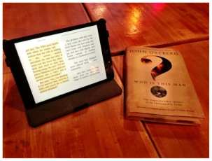 10 men at our Bible book discussion group. 5 books. 5 iPads.