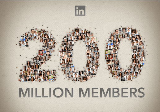 LinkedIn Blows Past 200 Million Members