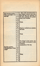 Benjamin Franklin's Daily Schedule - Do the Work!