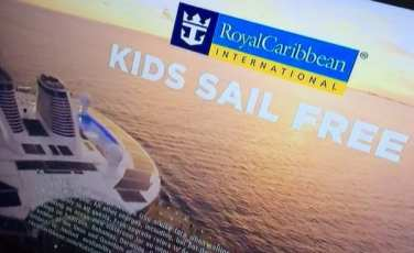 "Three lovely little words ""Kids Sail Free"""