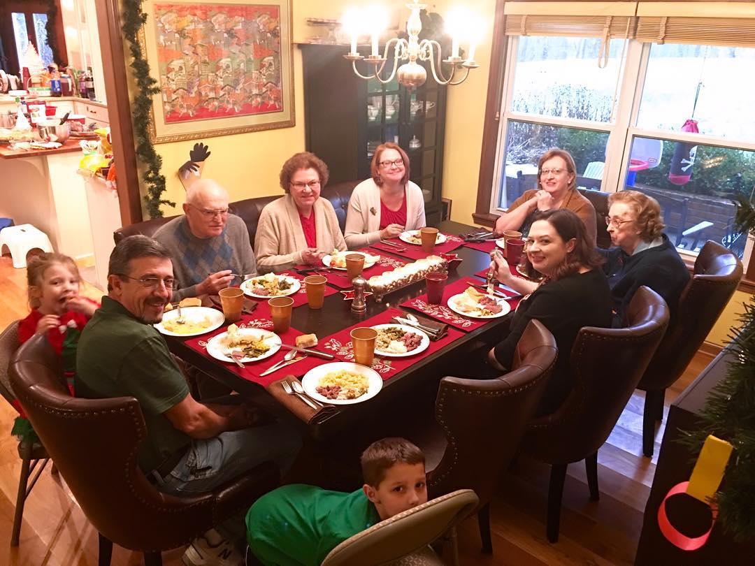 Helmick family dinner