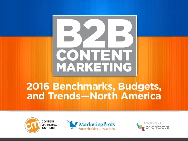 2016 B2B Marketing Budgets, Benchmarks and Trends