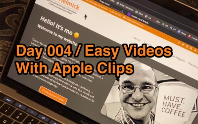 Day004 / Apple Clips Video App