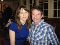 With Lucy Lawless