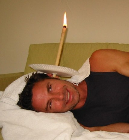 Because candling is a thing.